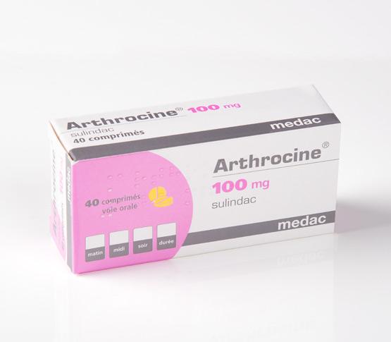 Arthrocine medac 100 mg