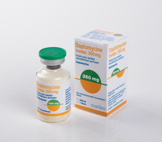 Daptomycine 350 mg