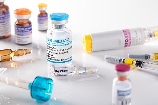 gamme de médicaments du laboratoire medac
