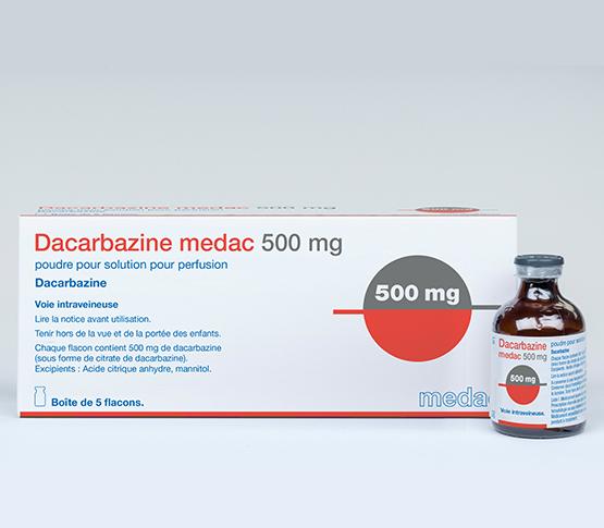 Dacabarzine 500mg medac