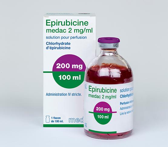Epirubicine 100ml medac
