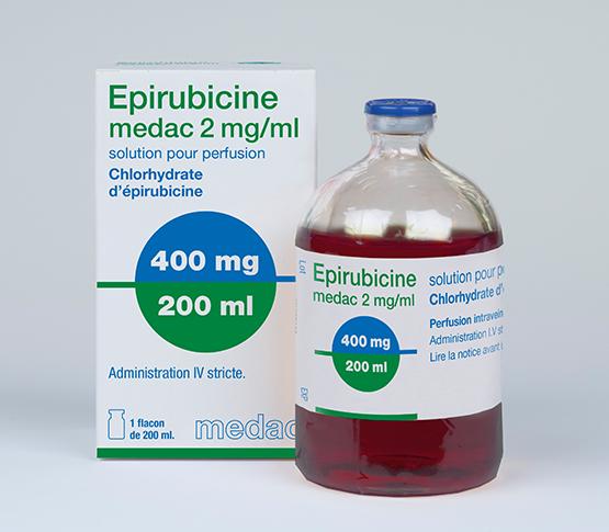 Epirubicine 200ml medac