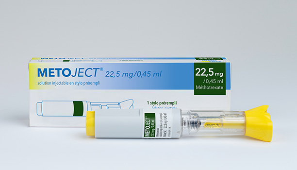 Metoject solution injectable en stylo prérempli 22,5mg/0,45ml
